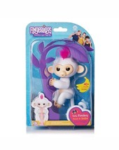 WowWee Fingerlings Sophie White w/ Pink Hair Interactive Baby Monkey - $24.99