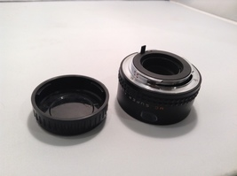 Asahi 2X Tele-Converter Lens and Cannon 100mm Lens  image 8