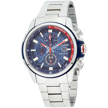 Citizen Marvel SPIDER-MAN Eco-Drive Men's Blue Dial Watch Wristwatch CA0... - $289.00