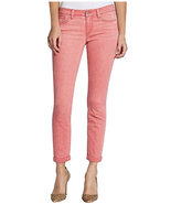 Jessica Simpson Womens Jeans Rolled Crop Skinny Denim Rosette Pink Size ... - $14.80