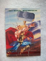 1993 Skybox Marvel Masterpieces Trading Card # 3 Thor - $0.95