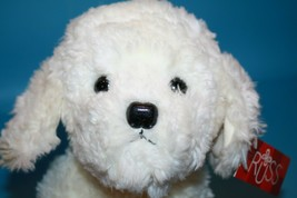 RUSS Stuffed Animal MUFFIN Dog Maltese Bichon Frise 22160 White Plush Ne... - $67.72