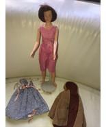 1963 Remco Judy Littlechap Original Jacket & Linen Dress - $59.39