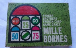 Parker Brothers French Card Game Craze Mille Bornes Family Game Night Vi... - $14.01