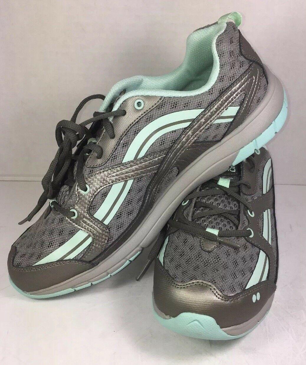 RYKA SMT STANCE Womens Grey/Mint  Cross Trainer Shoe Size US 11 M/ UK 9/ EU 43