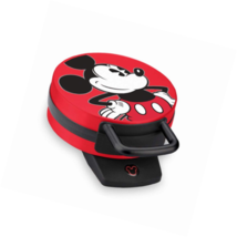 Disney DCM-12 Mickey Mouse Waffle Maker, Red - $46.56 CAD