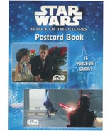 Star Wars Episode II Attack of the Clones Postcard Book 16 Cards 2002 Pa... - $12.86
