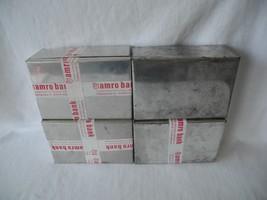 Vtg Amro Bank Aluminum Safe Deposit Box Amsterdam Rotterdam Antwerpen Lo... - $14.84
