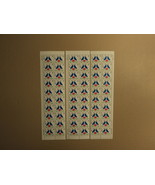 USPS Scott 2440 25c Love Lot Of 3 1990 Plate Block 60 Stamps Mint NH - $33.43