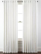 "New Liz Claiborne Home Kathryn Grommet Panel 50"" X 120"" White - $18.90"