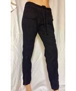 New BEBE Black Cargo Pants szs 26 & 27 100% Cotton - $149.00