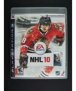 NHL 10 Playstation 3 PS3 Electronic Arts Chicago Blackhawks Patrick Kane... - $13.18