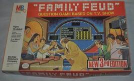 Milton Bradley Vintage 1978 Family Feud 3rd Edition Board Game. - $28.04
