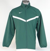 Nike Dri Fit Green Zip Front Mesh Lined Wind Track Jacket Men's NWT - $52.49