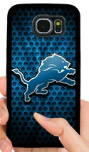 DETROIT LIONS PHONE CASE FOR SAMSUNG GALAXY & NOTE 5 S6 S7 EDGE S8 S9 S1... - $14.97