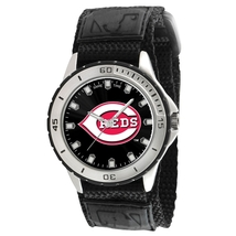 NEW MLB Cincinnati Reds Men's Veteran Series Game Time Watch - $29.99