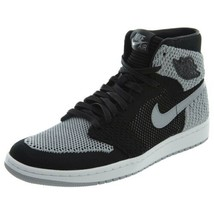Nike Mens Jordan 1 Retro High Flyknit Shadow Basketball Shoes 919704-003 - $266.83