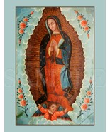 8.5X11 Mary Our Lady of Guadalupe Picture New Art Poster Print Jesus Bible Art - $12.16