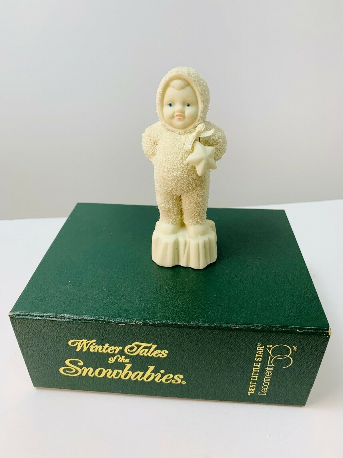 Primary image for Department  56 Snowbabies Best Little Star #68842 W/ Box