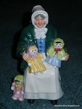 "ROYAL DOULTON ""RAG DOLL SELLER"" FIGURINE HN 2944 - CUTE COLLECTIBLE GIFT! - $145.49"