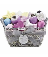 Bath Bombs Gift Set for Women – 17 Large Bath Fizzies in Assorted Colors... - $27.11