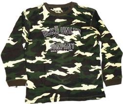 Boy's 4-7 Ecko Unltd. Shirt Long Sleeve Thermal Waffle Knit Camo Tee T-Shirt NEW