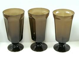 3 Lenox Antique Brown Iced Tea Goblets. EUC Bundle of 3 - $20.79