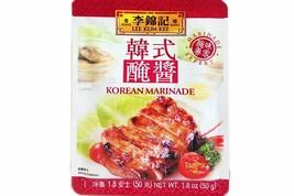 Lee Kum Kee Korean Marinade 1.8 oz ( Pack of 6 ) - $24.74