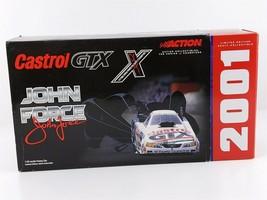 Action John Force CASTROL 10x Chrome MUSTANG FUNNY CAR NHRA 1:24 2001 NIB - $49.49