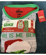 Jammies For Your Families Women's The Grinch Pajama Set XXL Christmas PJ... - $24.74