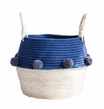 Black Temptation Woven Storage Basket Fashionable Household Storage Cont... - £28.45 GBP