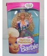 Barbie Dulces Palabras ~ Spanish Talking Barbie ~ NIB  1991 Mattel - $79.70