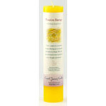 Positive Energy Reiki Charged Pillar Candle - $15.00