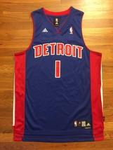 Adidas Detroit Pistons Chauncey Billups Road Blue Swingman Jersey L +2 - $149.99