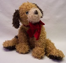 "TY 2005 Classic TYLER THE CURLY TAN FLOPPY DOG 9"" Plush Stuffed Animal NEW - $19.80"