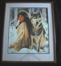 """Maija Signed and Inscribed Limited Edition Number 1/92 Print, """"Silent Partners"""" - $500.00"""