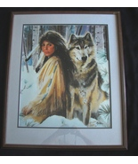 "Maija Signed and Inscribed Limited Edition Number 1/92 Print, ""Silent Pa... - $500.00"