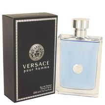 Versace Pour Homme 6.7 Oz Eau De Toilette Cologne Spray (Signature) image 4