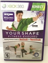 Your Shape: Fitness Evolved (Microsoft Xbox 360, 2010) (NO MANUAL) - $6.44