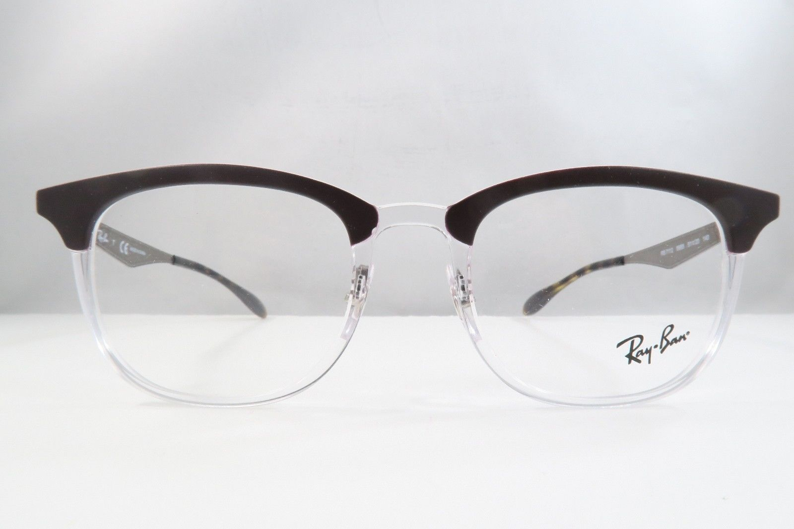 7b94656aa3 Ray Ban RB 7112 5685 Brown   Clear   Havana and 50 similar items