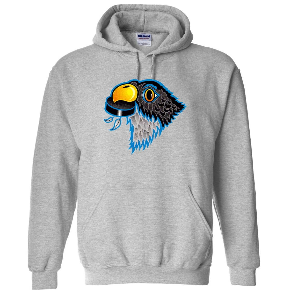 00514 hockey american league springfield falcons hoodie ash