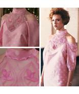 Molly Ringwald as Andie Pink Prom Dress Cosplay Costume from Pretty in Pink - $129.00