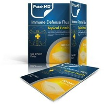 PatchMD Immune Defense Plus - Topical Patch (30 Day Supply) - EXP 2022 - $18.55