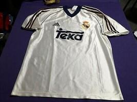 old soccer Jersey Real Madrid Adidas brand Teka sponosr - $58.41