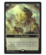 Magic the Gathering MTG Promo City's Blessing Elemental Foil Token Rival... - $7.95