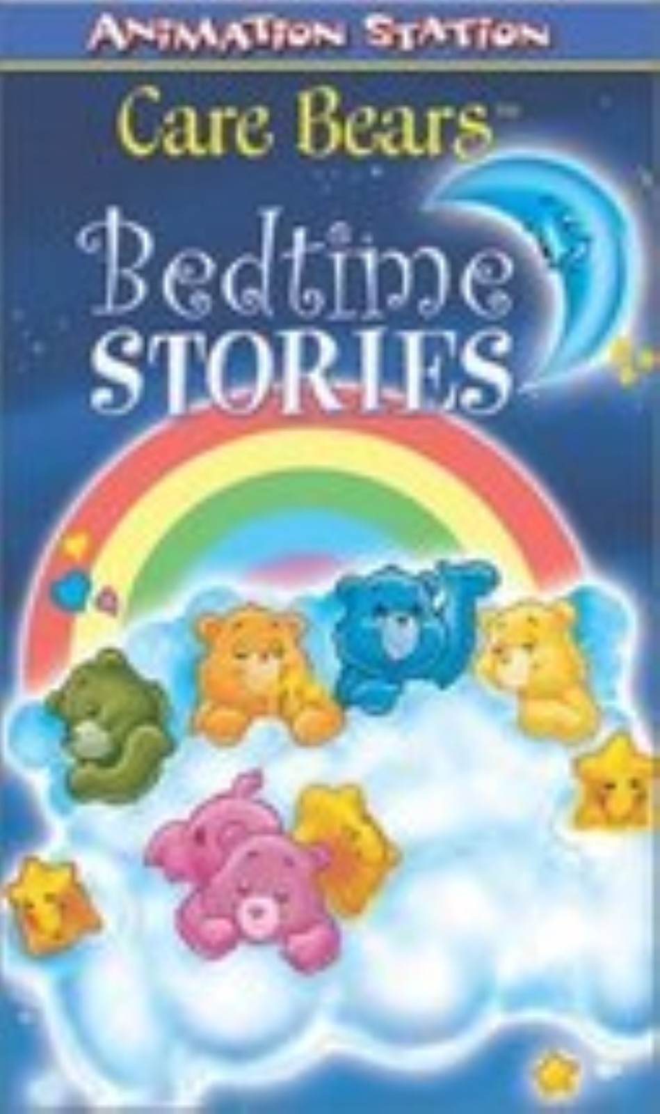 Care Bears Bedtime Stories Vhs