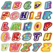 Iron On Patches Letters Satkago 26 Pcs Letter Diy Alphabet Or Sew For Jeans - $18.99