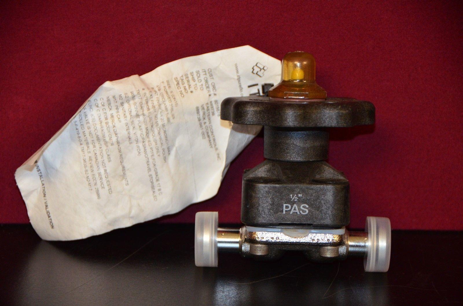 Itt pure flo 12 bonnet tc diaphragm valve and similar items itt pure flo 12 bonnet tc diaphragm valve 5 f 419 8 0 4 tm17 963s s2 m2 m17 ccuart Gallery