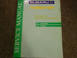 2002 Subaru Forester Engine Diagnostic Supplement Service Repair Shop Manual OEM - $64.30