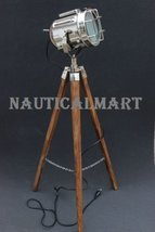 Vintage Searchlight Floor lamp With Tripod Stand For Living Room - $149.00